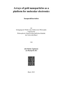gold nanoparticles thesis