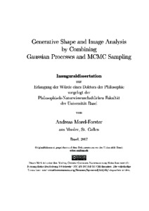 Generative shape and image analysis by combining Gaussian processes